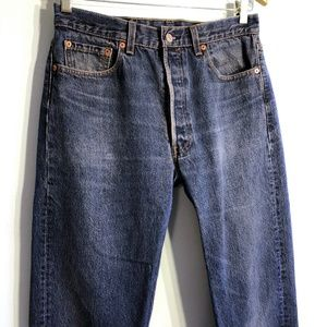 Levis 501 Jeans - Made In USA - Sz 34 W x 32 L